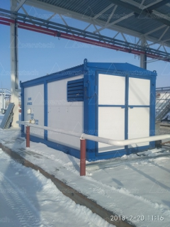 Поставка азотной станции в Когалым